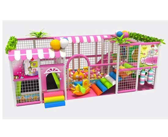Kiddie candy theme indoor playground equipment