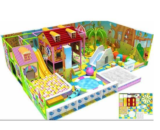 New indoor playground equipment for kids